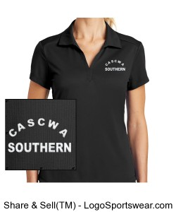 CASCWA - SOUTHERN SECTION WOMENS NIKE POLO SHIRT Design Zoom